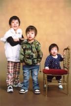 ファミリー&子供・埼玉県さいたま市浦和区の写真スタジオ&貸衣装店・スタジオ808&はまや衣裳店