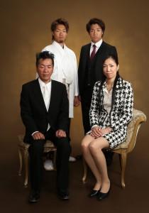 成人式 袴 家族写真 さいたま 浦和