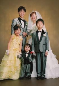 フォトブライダル 家族写真 さいたま