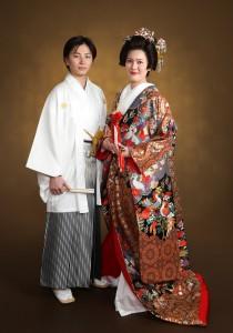 フォトウェディング 色打掛 結婚写真 さいたま 浦和
