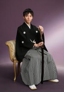 成人式 黒紋付 写真撮影 さいたま 浦和
