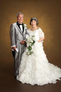 金婚式 記念写真