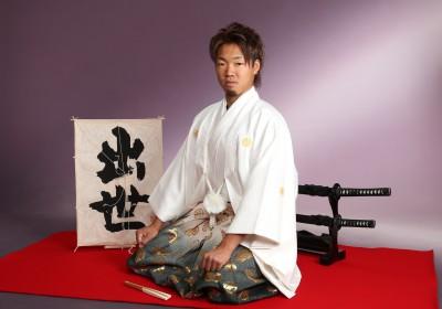 成人式 紋付袴