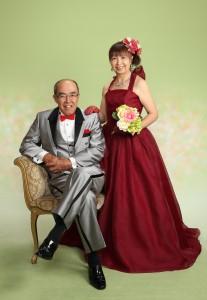 還暦 ドレス 夫婦 写真撮影 さいたま 浦和