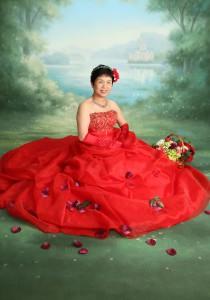 還暦 ドレス 写真