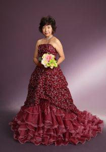 還暦ドレス 写真