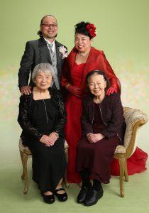 ブライダルフォト 家族写真