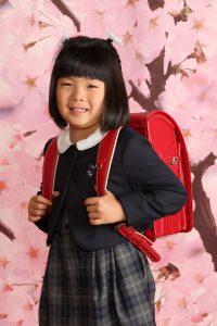 小学校 入学 写真