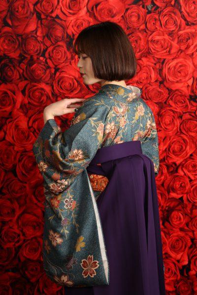 卒業袴 レンタル 着付 写真