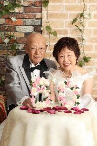 金婚式 ドレス 写真